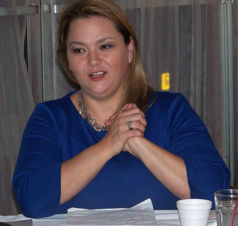Guest speaker Bethany Potter.