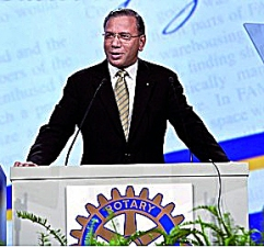 K.R. Ravindran addresses RI.