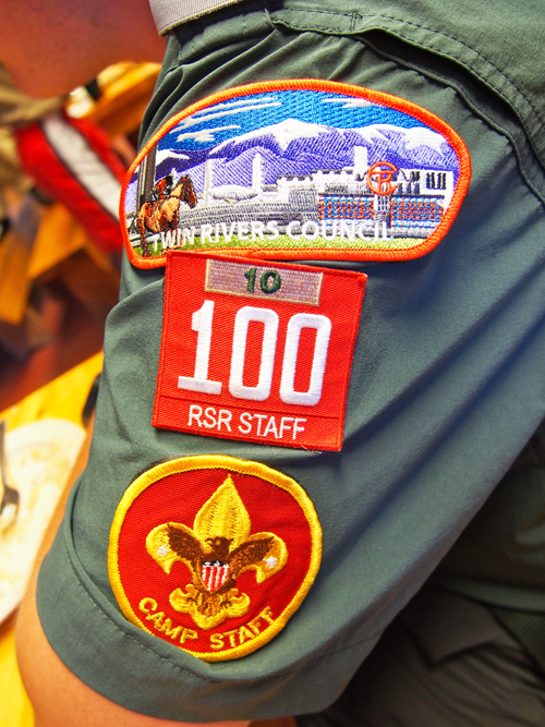 The symbols of Scouting.