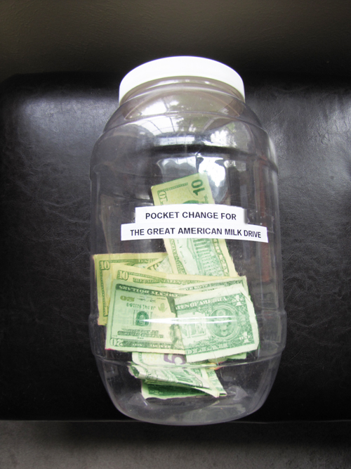 Pocket Change Jar