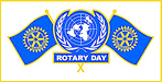 Rotary United Nations Day logo