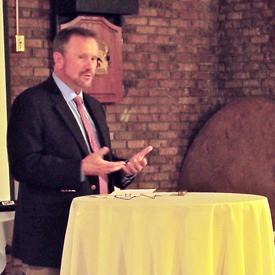 Speaker Brian Howard.