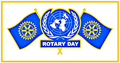 Rotary UN Day logo