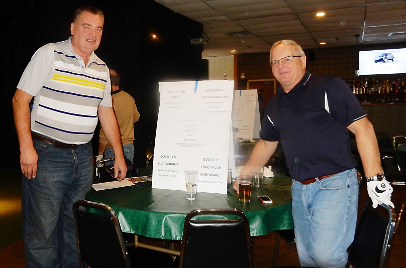 Event founders/coordinators Murray Forth (left) and Terry Brewer.