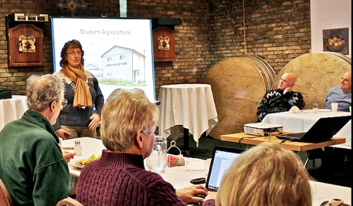 Beth Chittenden describes her Dutch Hollow Farm.