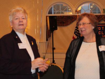 Pat Bailey and Lois Hannan.