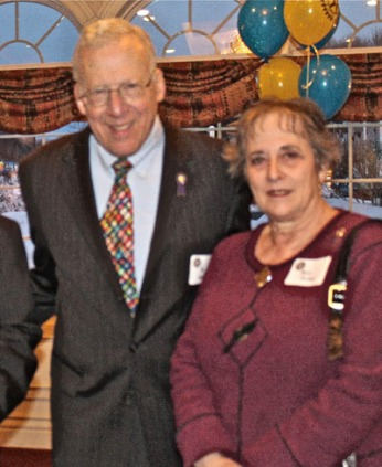 Past District Governor Bill Nathan and wife wife Betty.