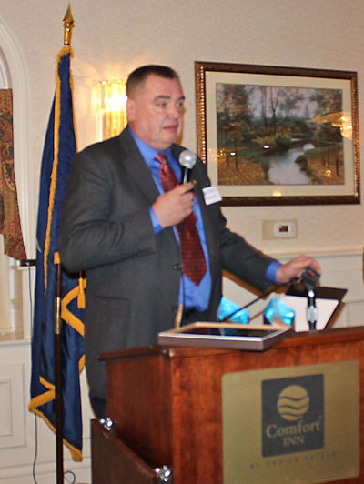 """Murray Forth, who received the """"Rotarian of the Year"""" award."""