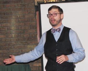Speaker Dan Butterworth