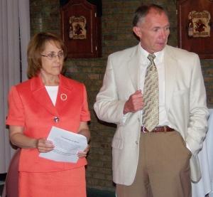 Sharon and Walter Tuszynski.