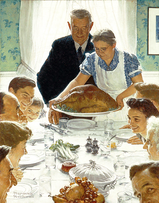 Rockwell Thanksgiving