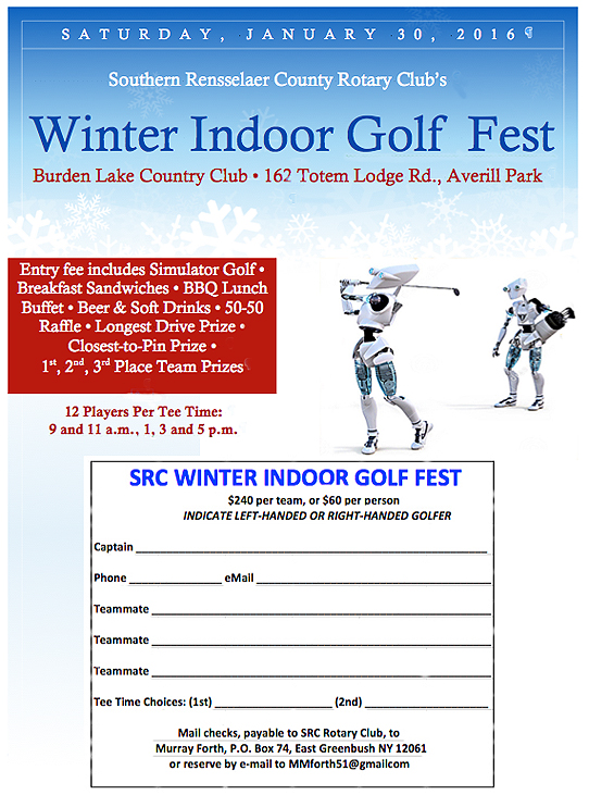 2016 SRC WInter Golf