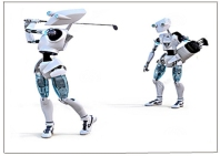 Golfer Robots Boxed