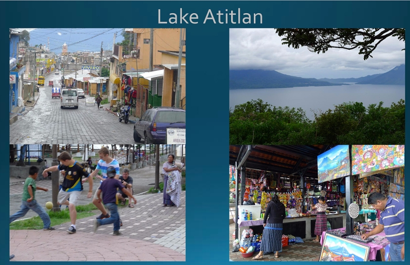 Street scenes in Lake Atitlan.
