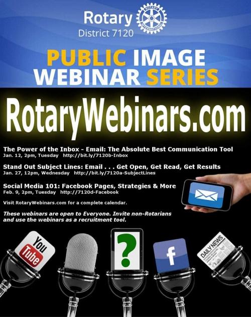 2016 Rotary Webinars