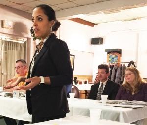Speaker Yalitza Negron.