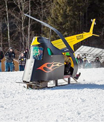 "A ""helicopter"" sled."