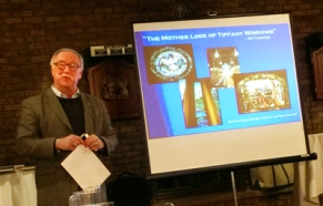 Historian P. Thomas Carroll describes Tiffany installations in Troy.