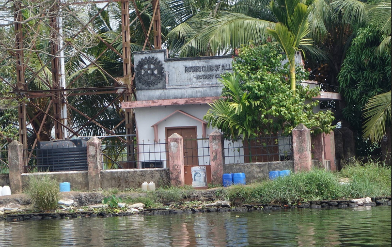 The Rotary Club of Alleppy, Kerala State, India.