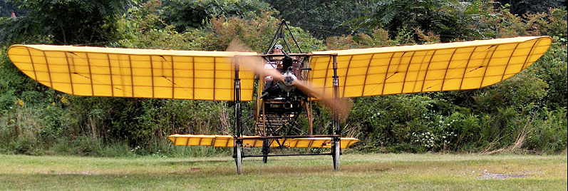One of the aircraft in the aerodrome's collection.